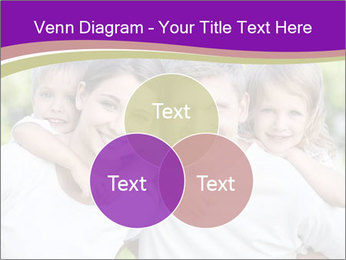Children with parents PowerPoint Template - Slide 33