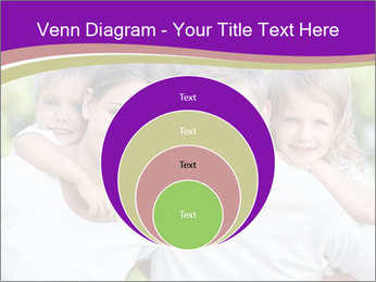 Children with parents PowerPoint Template - Slide 34