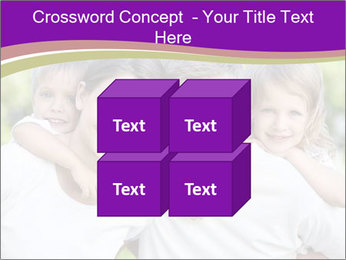Children with parents PowerPoint Template - Slide 39