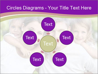 Children with parents PowerPoint Template - Slide 78