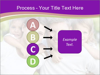 Children with parents PowerPoint Template - Slide 94