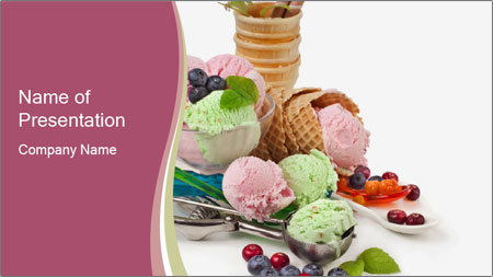 ice cream powerpoint template backgrounds google slides id