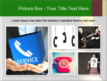 Hand holding PowerPoint Template - Slide 19