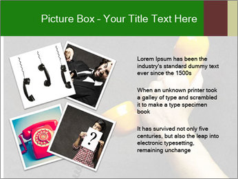 Hand holding PowerPoint Template - Slide 23