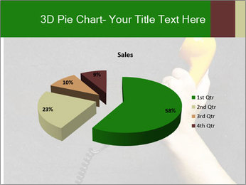 Hand holding PowerPoint Template - Slide 35