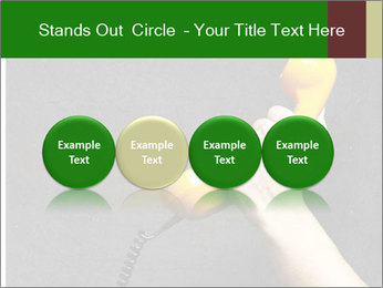 Hand holding PowerPoint Template - Slide 76