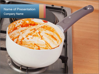 Cooking pan PowerPoint Templates - Slide 1