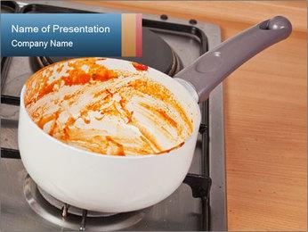 Cooking pan PowerPoint Template - Slide 1