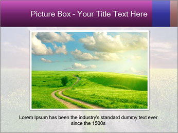 Country road and sunset PowerPoint Template - Slide 15