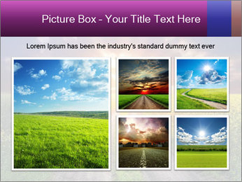 Country road and sunset PowerPoint Template - Slide 19