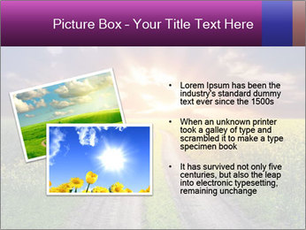 Country road and sunset PowerPoint Templates - Slide 20
