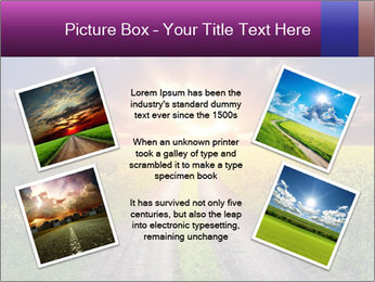 Country road and sunset PowerPoint Template - Slide 24