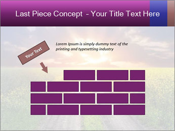 Country road and sunset PowerPoint Template - Slide 46
