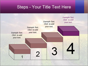 Country road and sunset PowerPoint Templates - Slide 64