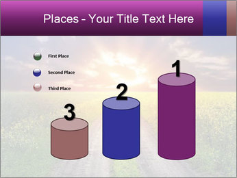 Country road and sunset PowerPoint Templates - Slide 65