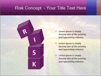 Country road and sunset PowerPoint Templates - Slide 81