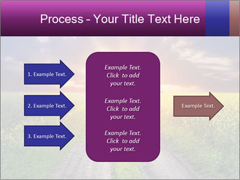 Country road and sunset PowerPoint Templates - Slide 85