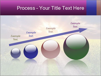 Country road and sunset PowerPoint Templates - Slide 87