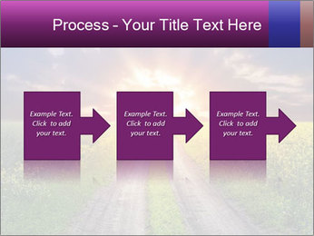 Country road and sunset PowerPoint Template - Slide 88