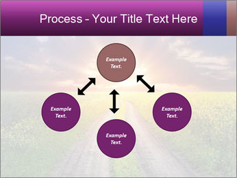 Country road and sunset PowerPoint Templates - Slide 91