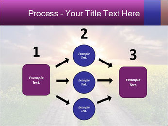 Country road and sunset PowerPoint Templates - Slide 92