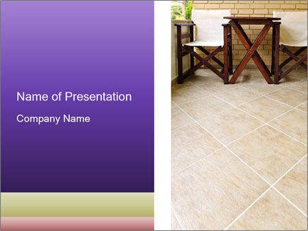 Large balcony PowerPoint Template