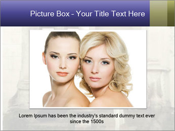 Two young attractivel woman PowerPoint Template - Slide 15