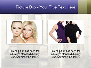 Two young attractivel woman PowerPoint Template - Slide 18