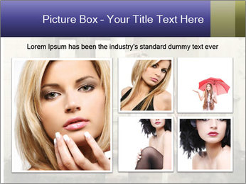 Two young attractivel woman PowerPoint Template - Slide 19