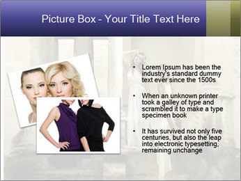 Two young attractivel woman PowerPoint Template - Slide 20