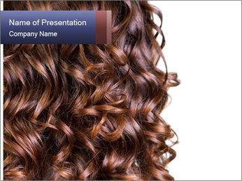 Hair PowerPoint Template - Slide 1