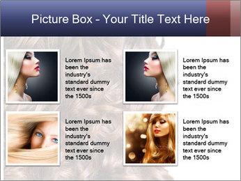 Hair PowerPoint Template - Slide 14