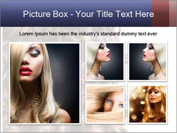 Hair PowerPoint Template - Slide 19