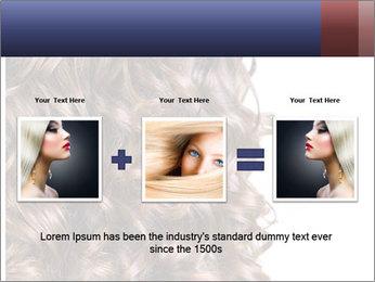 Hair PowerPoint Template - Slide 22