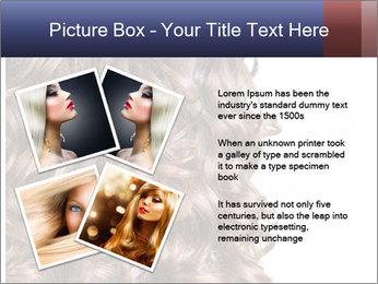 Hair PowerPoint Template - Slide 23
