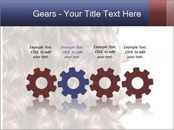 Hair PowerPoint Template - Slide 48