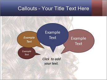 Hair PowerPoint Template - Slide 73