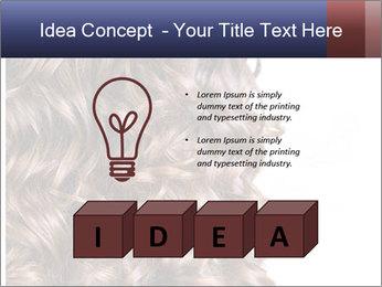 Hair PowerPoint Template - Slide 80
