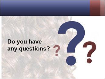 Hair PowerPoint Template - Slide 96
