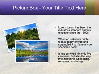Dark clouds in the sky PowerPoint Template - Slide 20