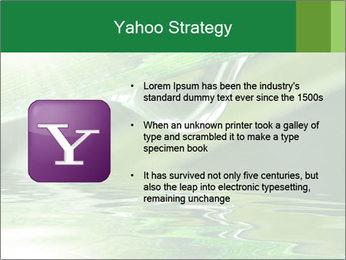 Fresh grass PowerPoint Template - Slide 11