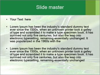 Fresh grass PowerPoint Template - Slide 2