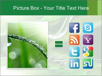 Fresh grass PowerPoint Template - Slide 21