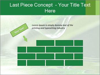 Fresh grass PowerPoint Template - Slide 46