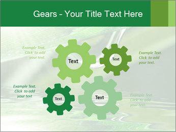 Fresh grass PowerPoint Template - Slide 47