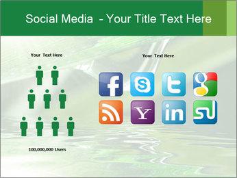 Fresh grass PowerPoint Template - Slide 5