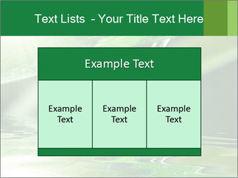 Fresh grass PowerPoint Template - Slide 59
