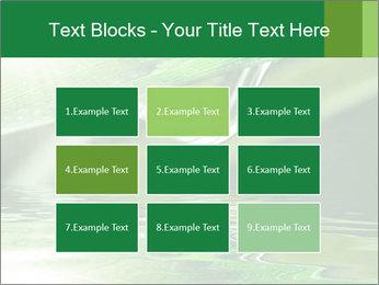 Fresh grass PowerPoint Template - Slide 68