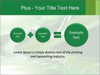 Fresh grass PowerPoint Template - Slide 75