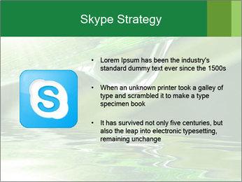 Fresh grass PowerPoint Template - Slide 8